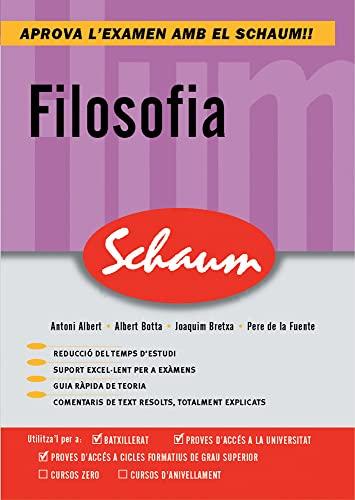 9788448198732: CUTR FILOSOFIA. COMENTARIOS TEXTO. SCHAUM (CATALAN) - 9788448198732