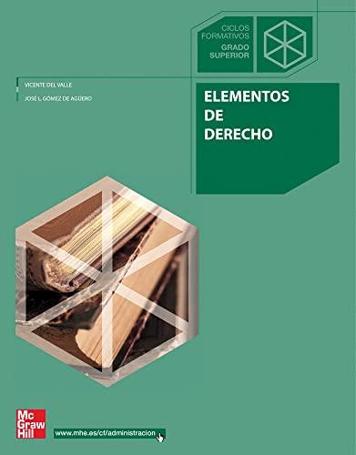 9788448199296: Elementos de derecho, grado superior