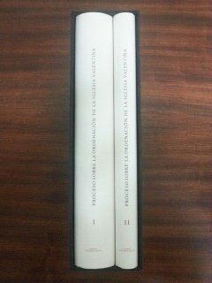 9788448214418: Proceso sobre la ordenacion en la iglesia valentina (2 vols)