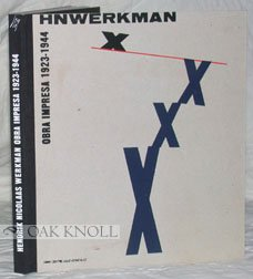 H.N.Werkman: Obra Impreesa 1923-1994: Juan Manuel Bonet