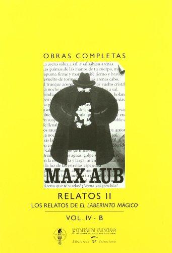 9788448242947: Aub o.c., IV-b: los relatos de el laberinto magicoobras completas