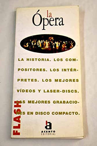 9788448300883: Opera, la