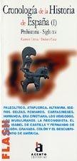 9788448304508: Flash-Acento Editorial: Cronologia De LA Historia De Espana I