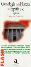 9788448304539: Cronologia historia España (IV) siglo XX