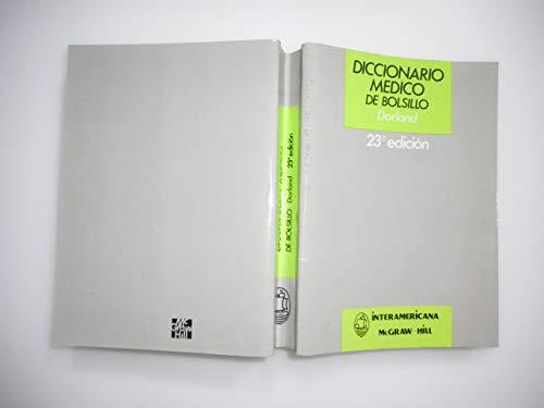 9788448601805: Diccionario medico ilustrado bolsillo *dorlan*