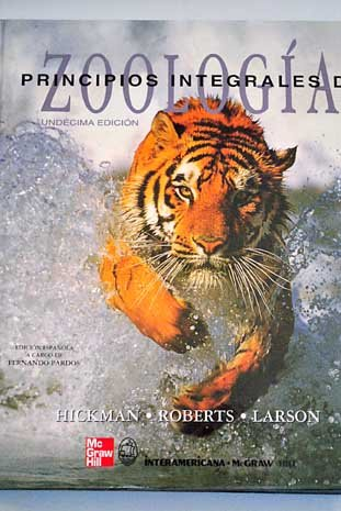 9788448603304: Zoologia, Principios Integrales