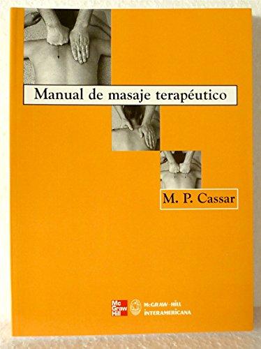 9788448603380: MANUAL MASAJE TERAPEUTICO