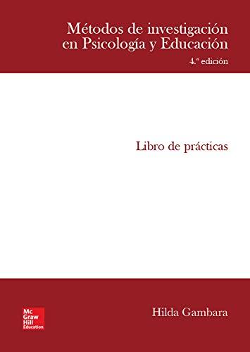 9788448608415: Métodos de investigación en Psicología y Educación (Spanish Edition)