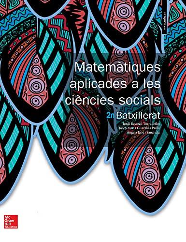9788448610463: BL MATEMATIQUES APLICADES A LES CIENCIES SOCIALS 2 BATXILLERAT. LIBRE DIGITAL.