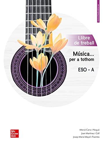 9788448615833: Musica ... per a tothom - ESO A. Quadern