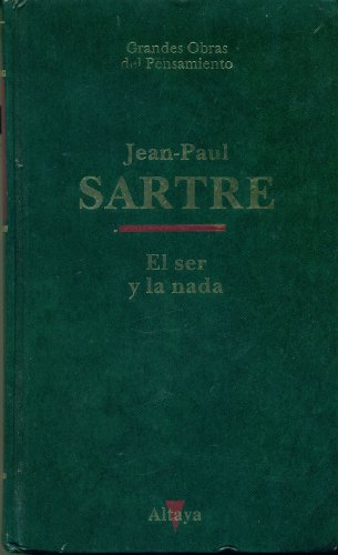El Ser Y La Nada: Jean-Paul, Sartre
