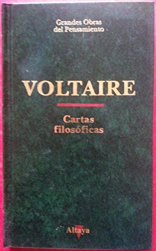 CARTAS FILOSOFICAS ALTAYA TD: Voltaire