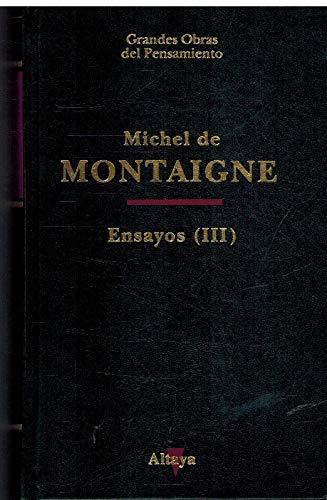 9788448701642: Ensayos III