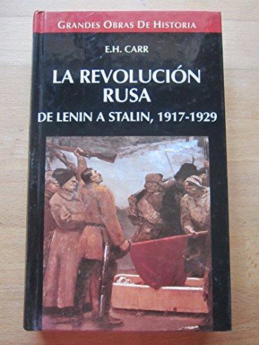 9788448707033: La Revolución Rusa. De Lenin a Stalin, 1917-1929