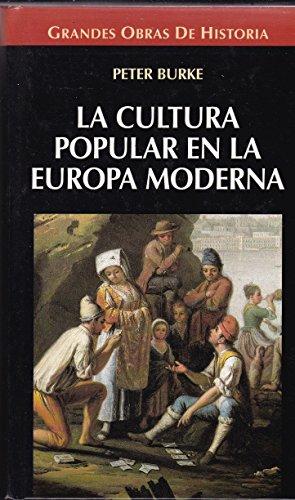 9788448709044: La cultura popular en la Europa moderna