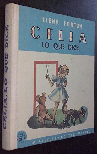 9788448723248: Celia. Lo Que Dice
