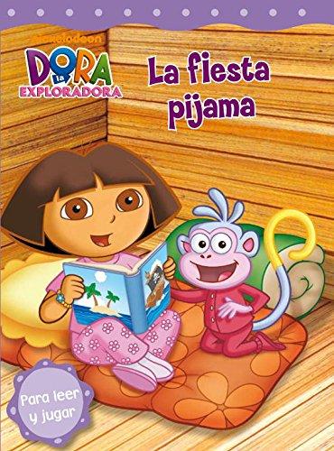 9788448831844: La fiesta pijama (Dora la exploradora. Pictogramas)