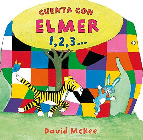 9788448833015: Cuenta con Elmer 1,2,3...