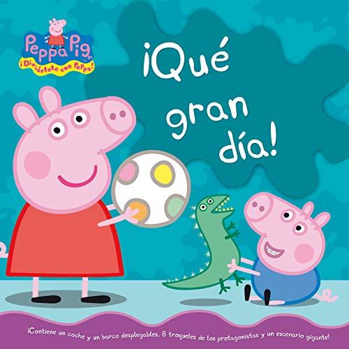 9788448833732: ¡Qué gran dia! (Peppa Pig. Libro regalo): (Incluye figuras troqueladas)
