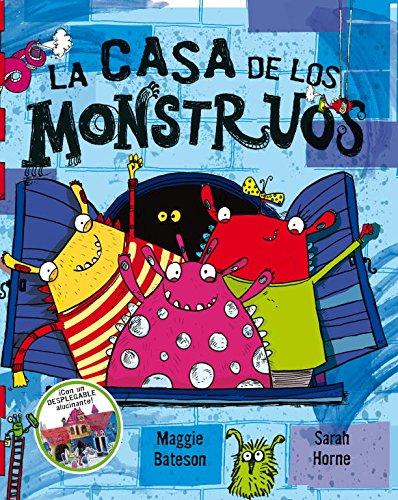 9788448834593: La casa de los monstruos: (Contiene desplegable) (LIBRO JUEGO)