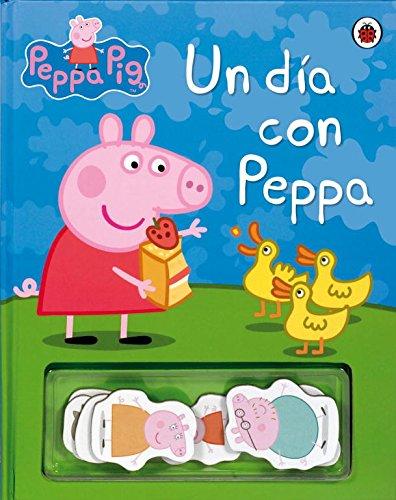 9788448834609: Un día con Peppa (Peppa Pig. Libro regalo): (Incluye imanes de los personajes)