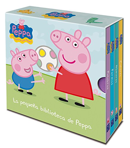 9788448835484: La pequeña biblioteca de Peppa (Peppa Pig. Todo cartón)