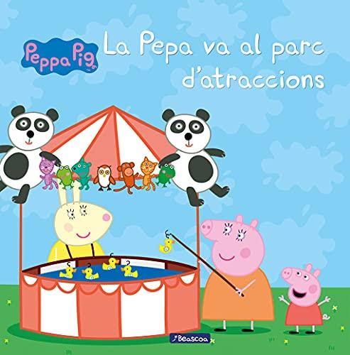 9788448835590: La Pepa va al parc d'atraccions (La Porqueta Pepa. Primeres lectures)