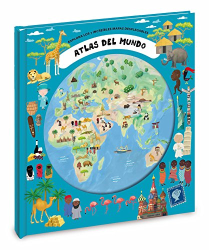 9788448836153: Atlas Del Mundo / World Atlas: Explora los 7 increíbles mapas desplegables / Explore the Incredible 7 Folding Maps (Spanish Edition)