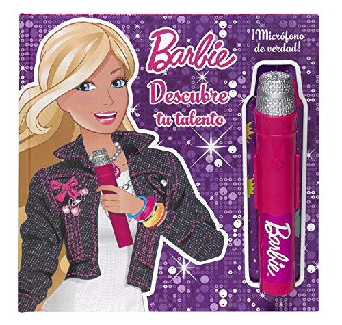9788448836498: Descubre tu talento (Barbie. Libro regalo): (Incluye micrófono)