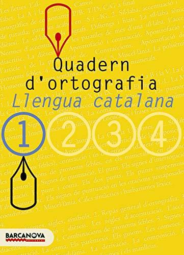 9788448917104: Quadern d'ortografia 1. Llengua Catalana