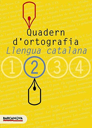 9788448917111: Quadern d'ortografia 2. Llengua Catalana