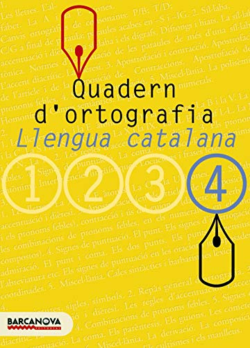 9788448917135: Quadern d'ortografia 4 (Materials Educatius - Eso - Llengua Catalana) - 9788448917135