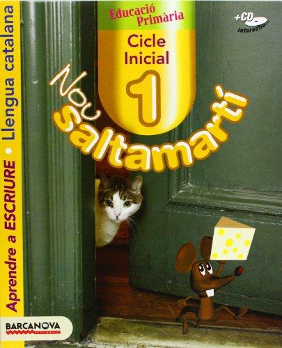 9788448919825: Nou Saltamartí 1 CI. Aprendre a escriure. Llibre de l ' alumne