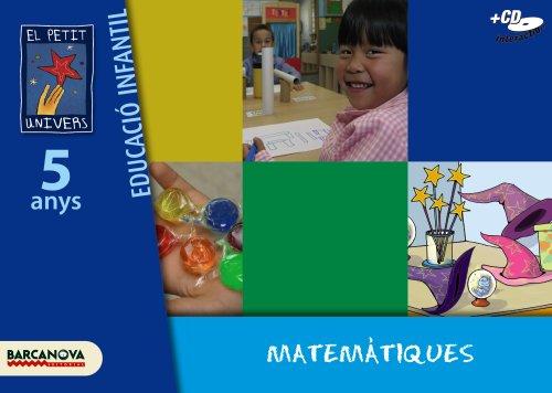 9788448921880: El Petit Univers P5. Matematiques. Carpeta de l'alumne - 9788448921880