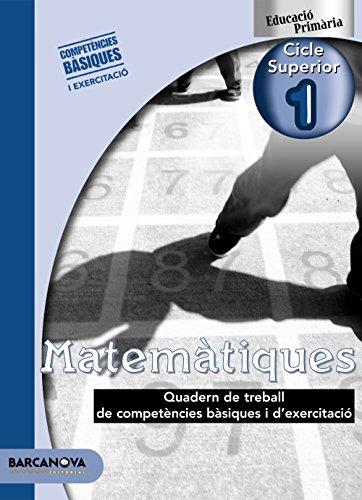 9788448924102: Matemàtiques CS 1. Quadern de treball (Materials Educatius - Cicle Superior - Matemàtiques) - 9788448924102
