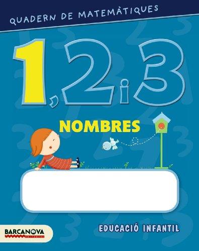 9788448927547: Quadern de matemàtiques 1, 2 i 3. Nombres 1