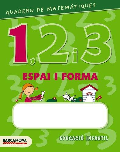 9788448927578: Quadern de matemàtiques 1, 2 i 3. Espai i forma 1 (Materials Educatius - Parvulari) - 9788448927578