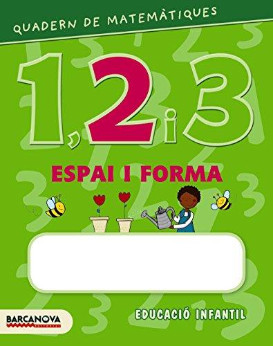 9788448927585: Quadern de matemàtiques 1, 2 i 3. Espai i forma 2 (Materials Educatius - Parvulari) - 9788448927585