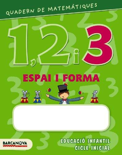 9788448927592: Quadern de matemátiques 1, 2 i 3 Espai i forma 3 (Materials Educatius - Parvulari) - 9788448927592