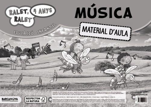 9788448929466: Ralet, ralet P4. Música. Material d ' aula