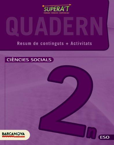 9788448930257: Supera ' t. Ciències socials 2 ESO. Quadern de treball - 9788448930257 (Materials Educatius - Eso - Ciències Socials)