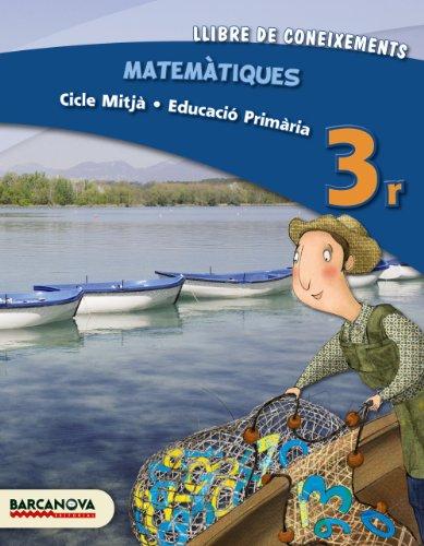 9788448931810: Matemàtiques 3r CM. Llibre de coneixements (ed. 2013)