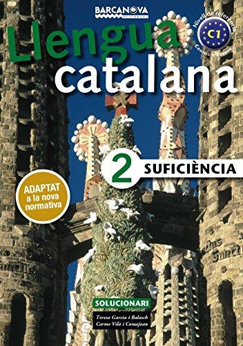 9788448943646: Suficiència 2. Solucionari (Materials Educatius - Català Per A Adults)
