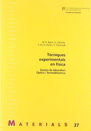 9788449008535: Tècniques experimentals en física