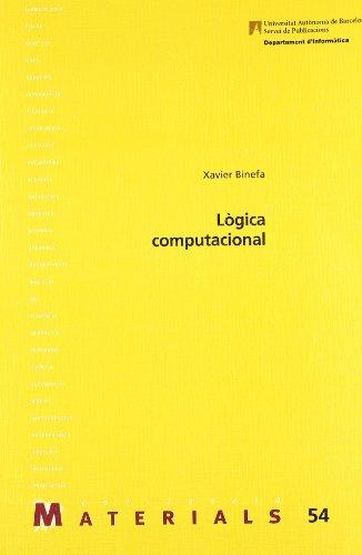 9788449013843: Lògica computacional