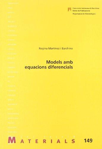 9788449023620: Models amb equacions diferencials