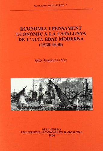 ECONOMIA I PENSAMENT ECONOMIC A LA CATALUNYA: JUNQUERAS I VIVES