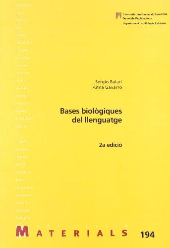 9788449025136: Bases Biol giques del Llenguatge: 194 (Materials)