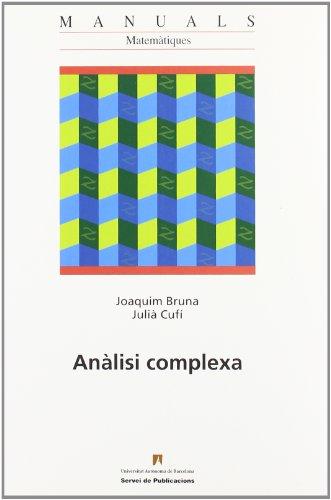 9788449025594: AnAÂ lisi complexa