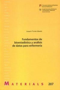 Fundamentos de bioestadística y análisis de datos: Tomás-Sábado, Joaquín
